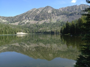 A Mountain Lake at 10,000 feet up