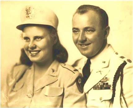 Maj. Millard Q. Davis & Lt. June L. Davis