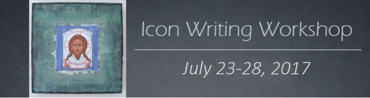 Icon Writing, July 23-28, 2017
