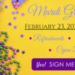 Mardi Gras Slider Banner