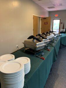 New Buffet Area